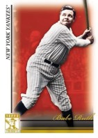 2010 Topps Tribute Babe Ruth Base Card