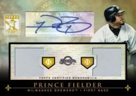 2010 Topps Tribute Dual Autograph Prince Fielder