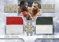 2010 Ringside Boxing Holmes Mike Tyson Dual