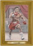 2010 Ringside Boxing Vinny Paz Turkey Gold