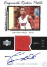 2003/04 UD Exquisite Dwyane Wade RC