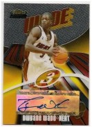 03/04 Topps Finest Dwyane Wade Autograph Rookie Card