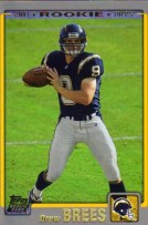 Drew Brees 2001 Topps RC