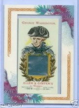 George Washington Allen & Ginter DNA Card