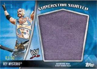 2010 Topps WWE Rey Mysterio Super Swatch Relic