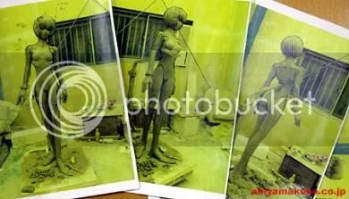 Produção das figuras é supervisionada por Yoshiyuki Sadamoto