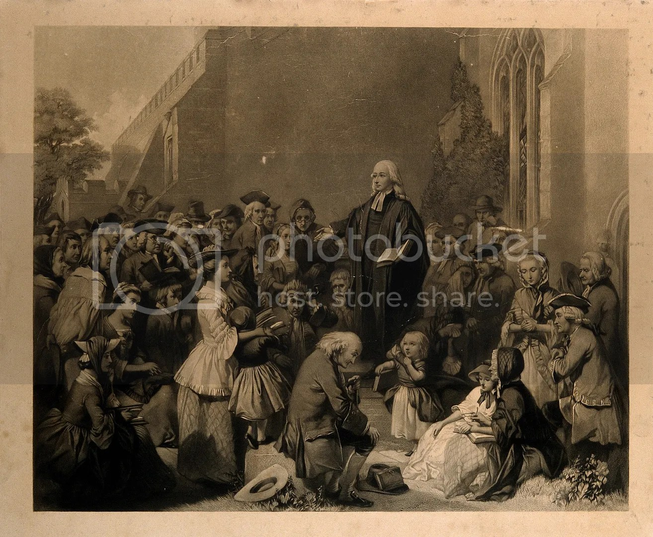 photo John_Wesley_preaching_outside_a_church._Engraving._Wellcome_V0006868-3_zpsuga1luaa.jpg
