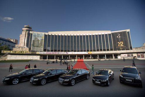 Seat Leon Cupra приехал на фестиваль Volkswagen Fest UA 2014