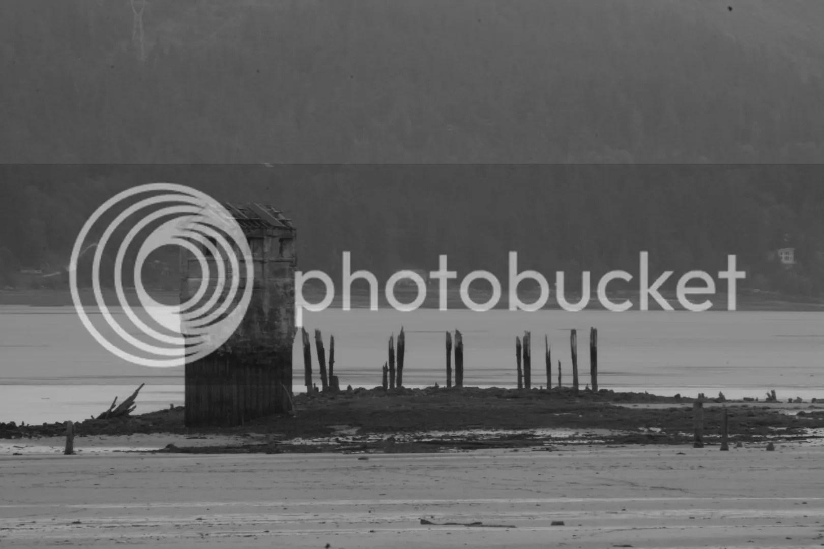 Eroded Pier