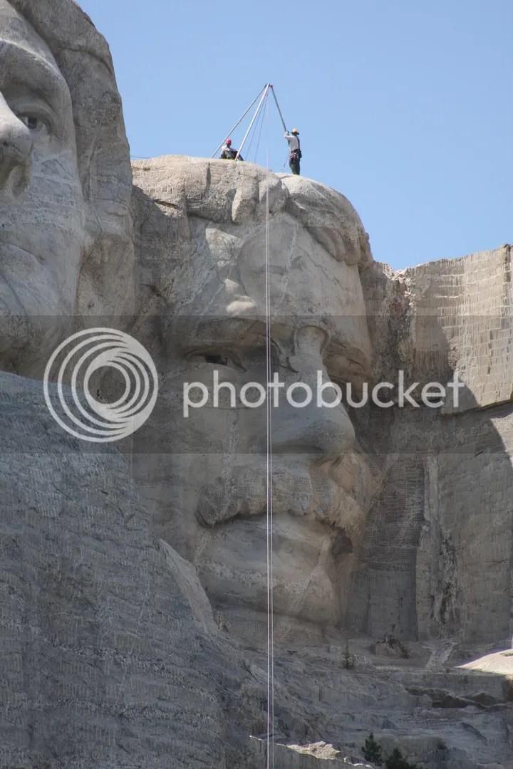 Theodore Roosevelt, Mount Rushmore