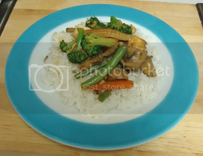 Spicy Lemongrass Vegetables