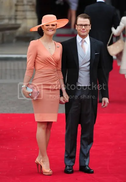 HM Crown Princess Victoria and Prince Daniel of Sweden