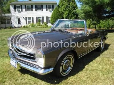 1966 Mercedes Convertible