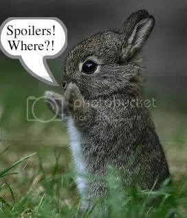 Spoiler bunny acts all innocent, but we know, dont we?