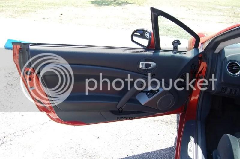 2007 Mitsubishi Eclipse Interior Door Handle Replacement