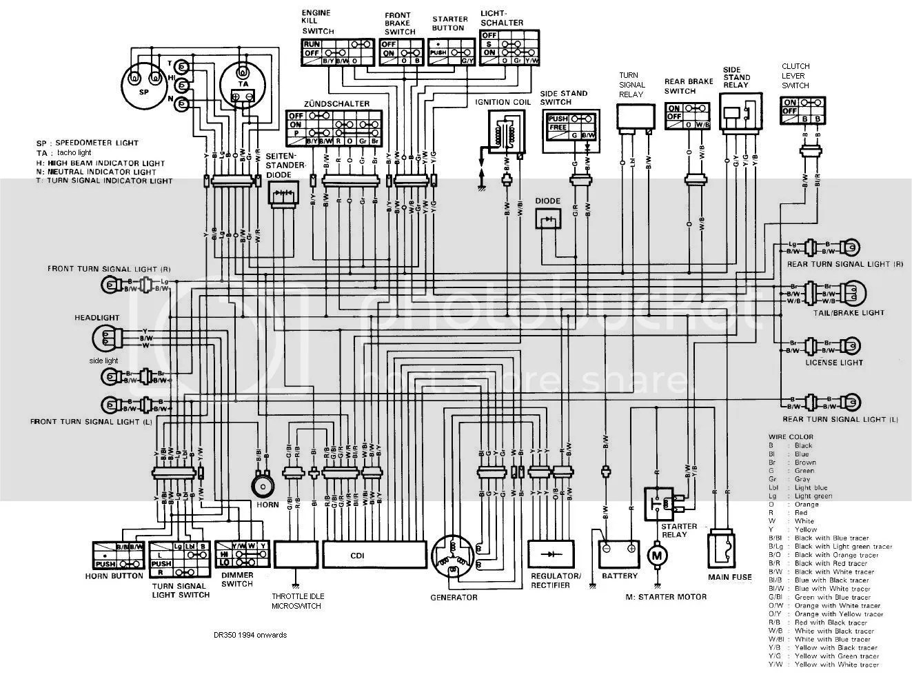 Dr650se Wiring Diagram