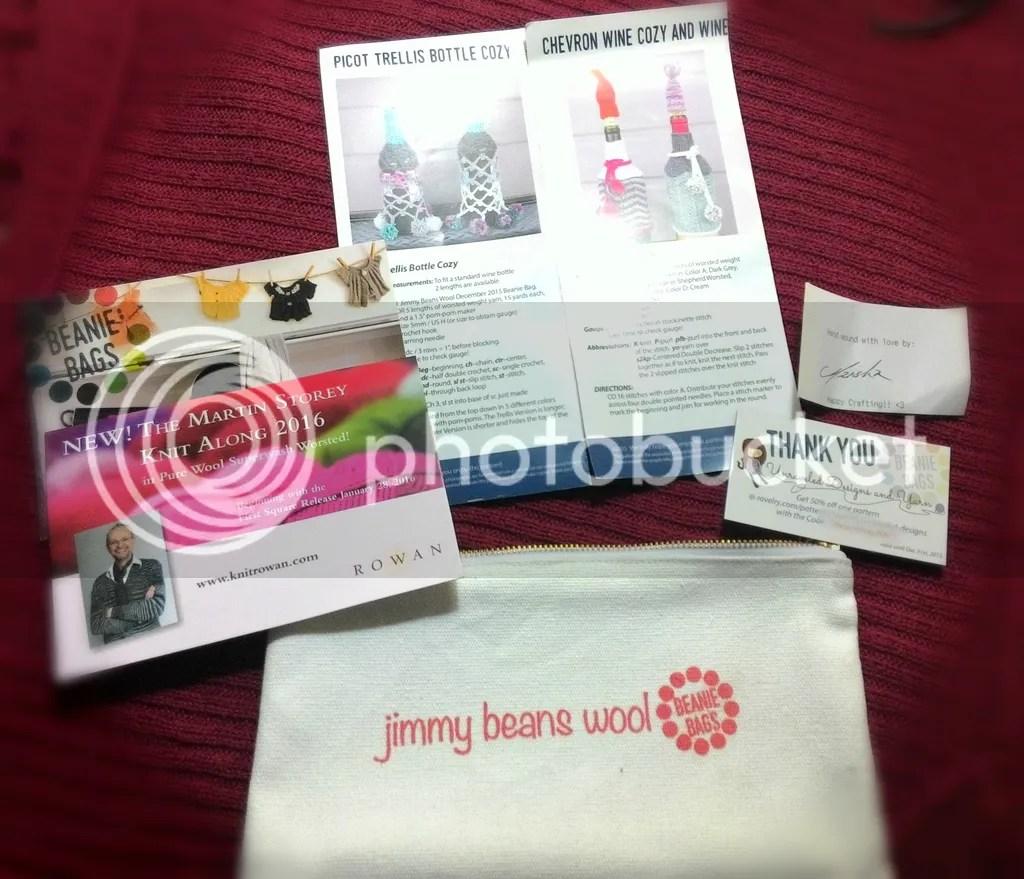 jimmybeanswool, beanie bag, yarn subscription, firefly