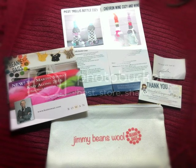 jimmybeanswool, beanie bag, yarn subscription, firefly