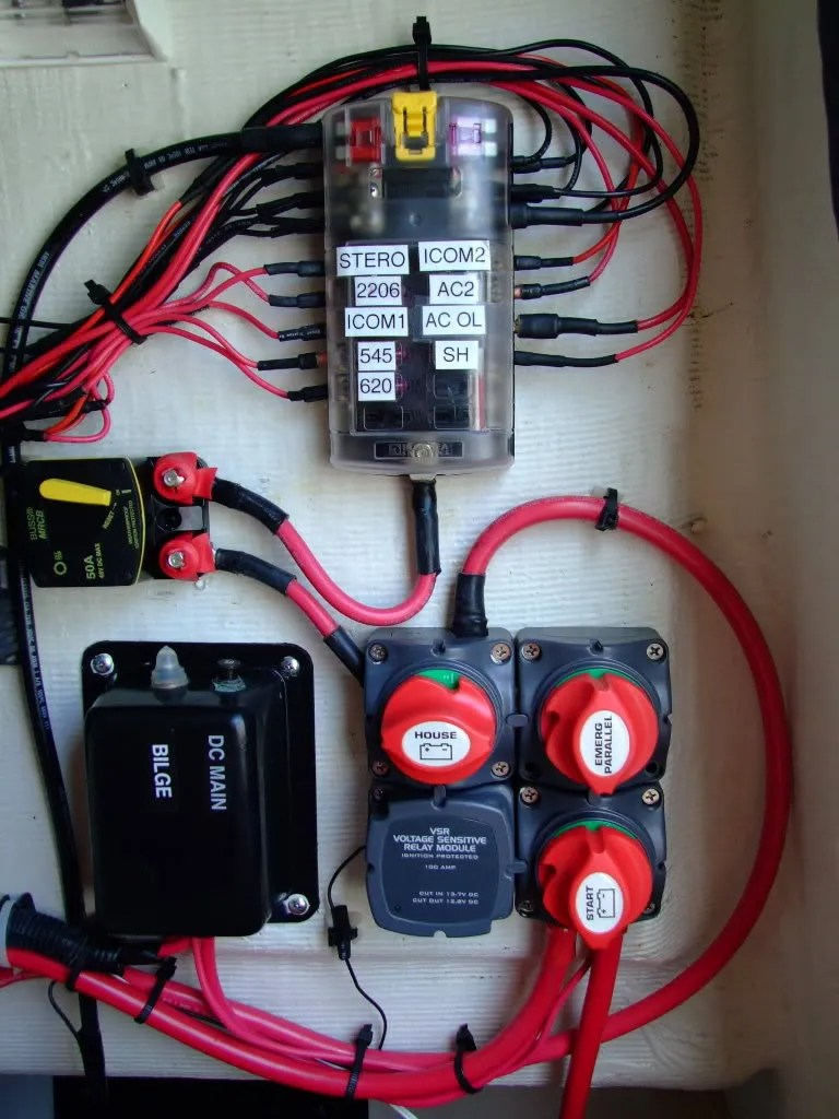 Wiring Review Request  Blue Sea Systems ACR Installation  Moderated Discussion Areas