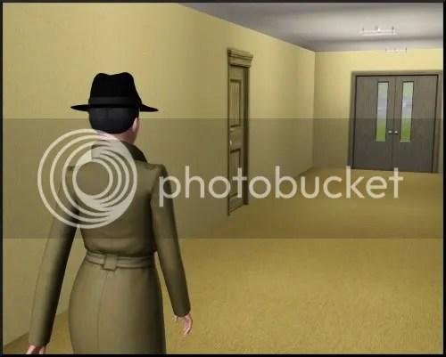 Neat hallway, huh?