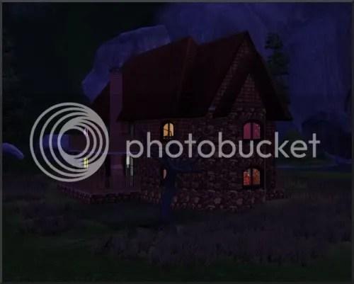 oooh, scary house