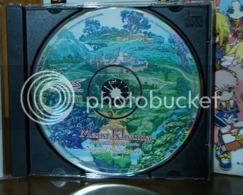 O CD da OST