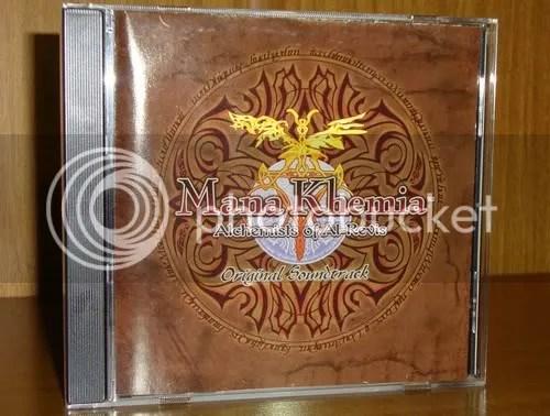 A caixinha da OST, com sua capa original.