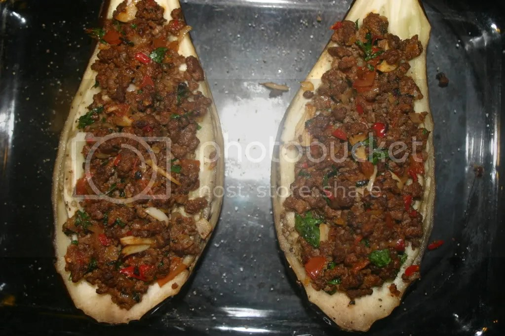 Turkish Stuffed Eggplant