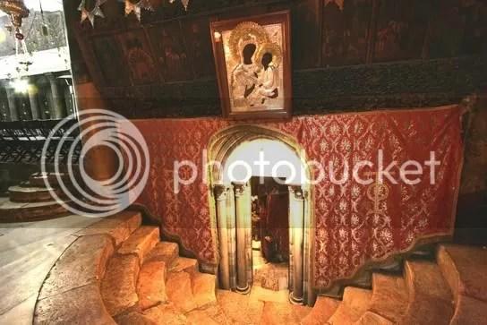 Eingang zur Geburtsgrotte Jesu