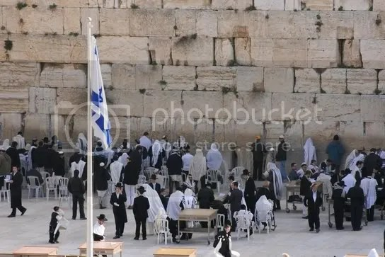 Westmauer am Sabbatmorgen