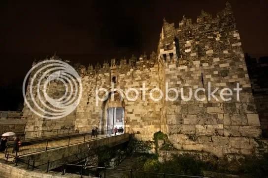 Damaskustor nachts