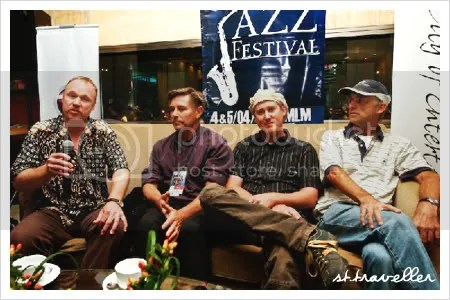 Diamond Dave & The Doodaddies @ GIJF interview.