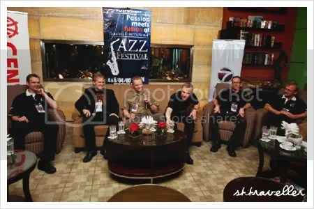 Neader\'s Jazz Band @ GIJF interview.