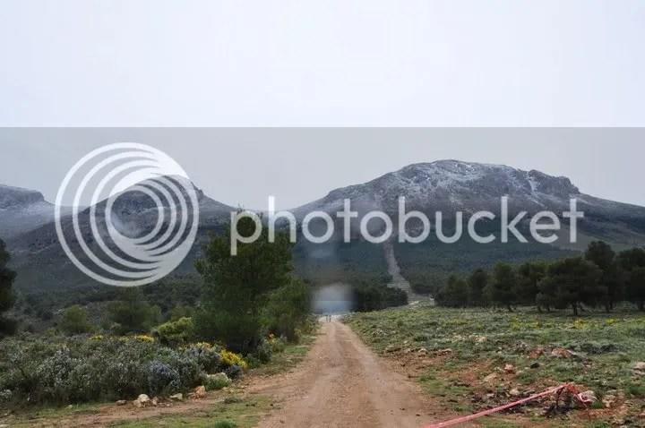 Bonita imagen de Sierra Arana tras la nevada