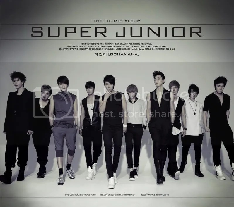Super Junior - Bonamana (Repackage)
