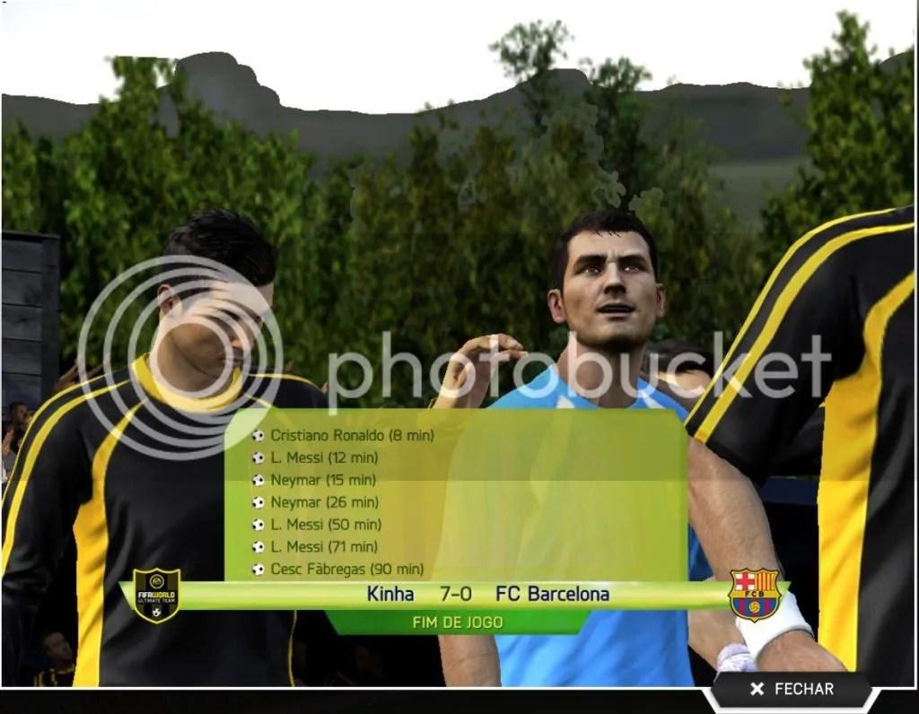 Kinha7x0Barcelona - Jogamos: Fifa World