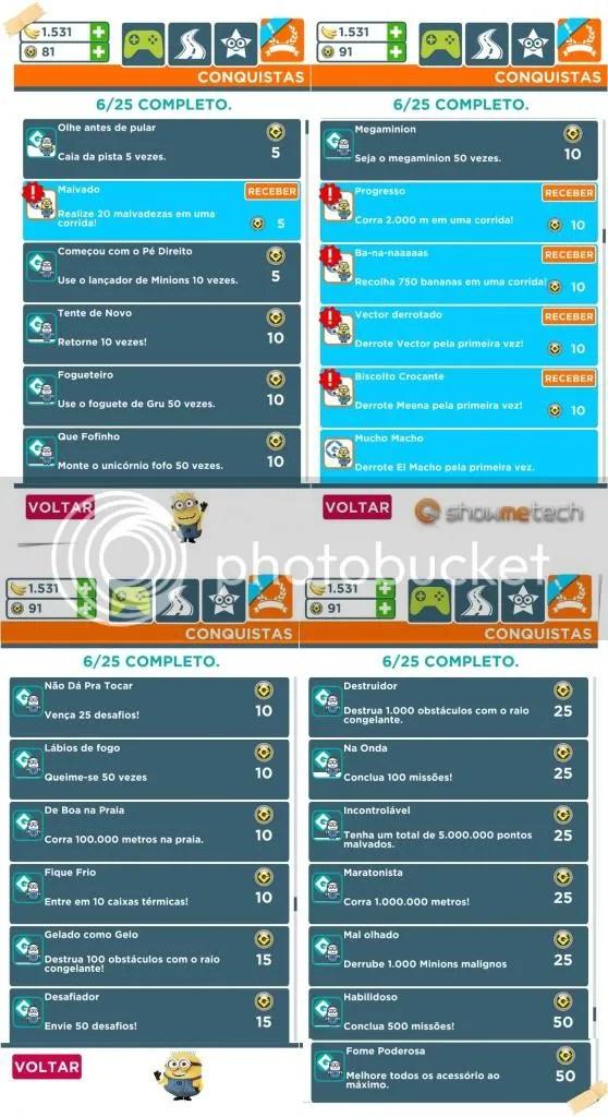 conquistasok - Game Review: Meu malvado favorito: Minion Rush (iOS)
