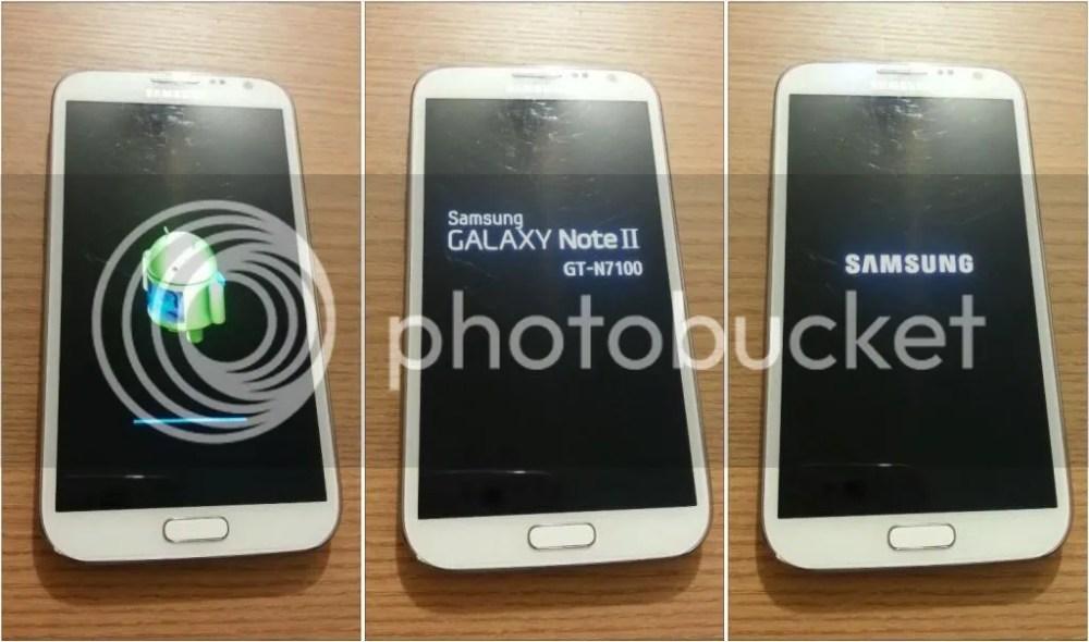 Formatando Galaxy Note II - Passo 07