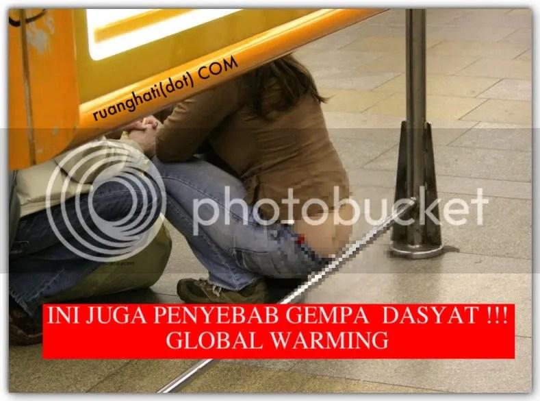 Inikah juga penyebab Global Warming dan Gempa?