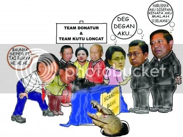 Karikatur-karikatur dukungan masyarakat pada KPK