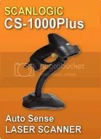 Barcode Scanner Scanlogic CS-1000Plus