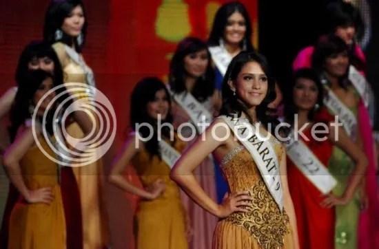 Asyifa Latief Miss Indonesia 2010 Asal Jawa Barat