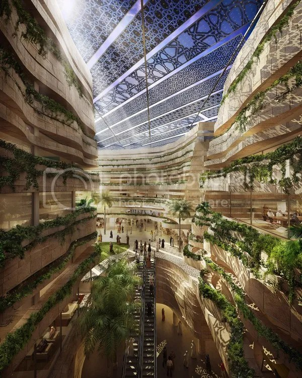 Konsep bangunan yang modern    begitu menawan, ditambah nuansa ramah lingkungan yang menjadi ciri kota    Masdar
