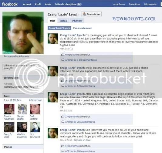 buron ejek polisi di facebook