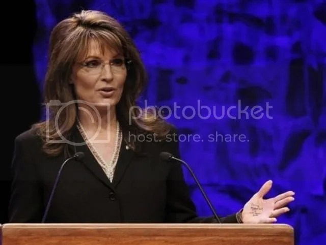 Sarah Palin ternyata manusia seperti kita juga yang punya  keterbatasan