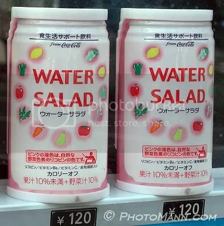 Minuman teraneh di dunia, air rasa  salad
