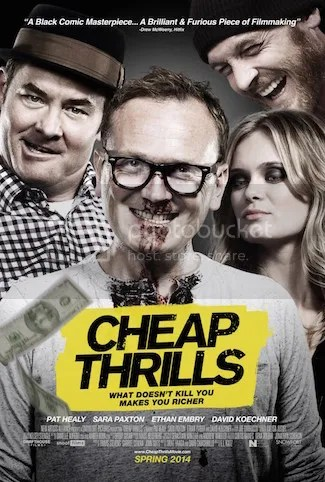 Cheap Thrills, Horror, Money,