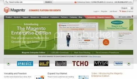 Magneto is one of the best free E-commerce CMS