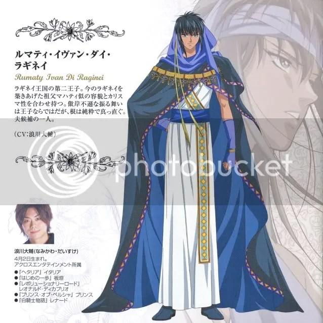 Hanasakeru Seishounen,anime manga,HanaSei Character Image,Rumaty