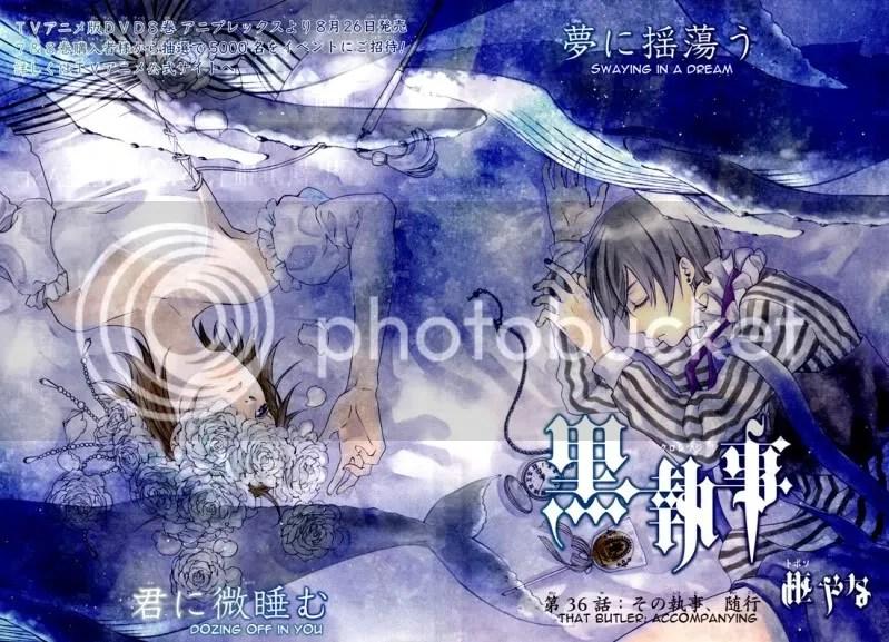 Kuroshitsuji,manga
